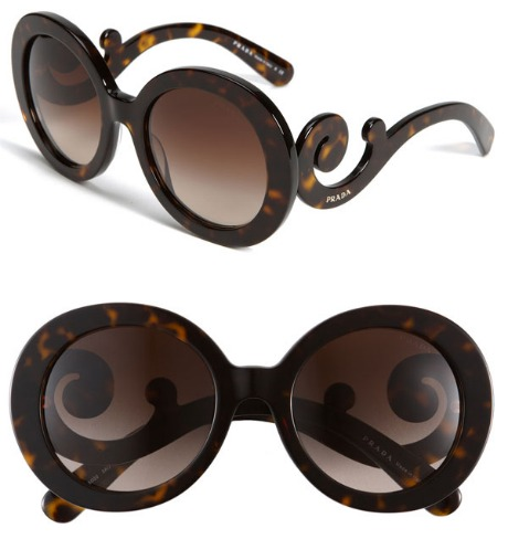 Prada Baroque Sunglasses Knockoff Prada Baroque Sunglasses…yet